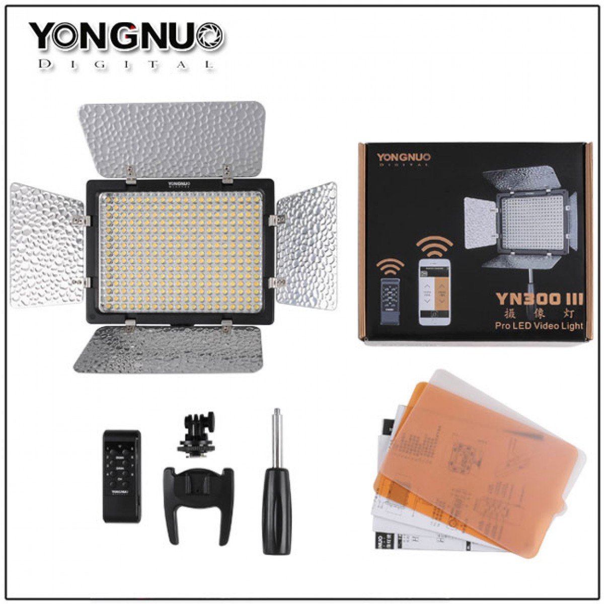 Yongnuo YN-300 II led light