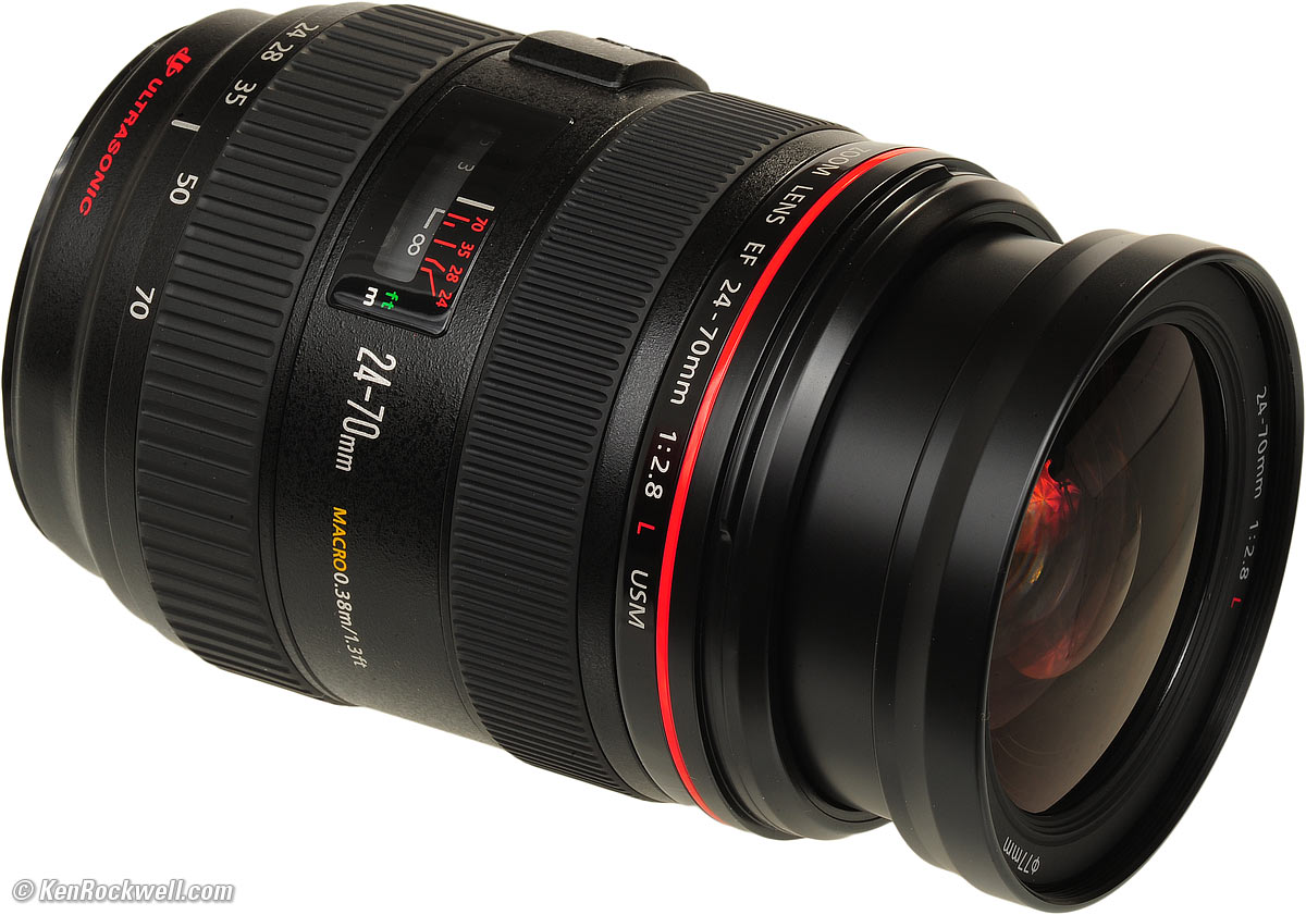 Canon 24-70mm f2.8 L mark I