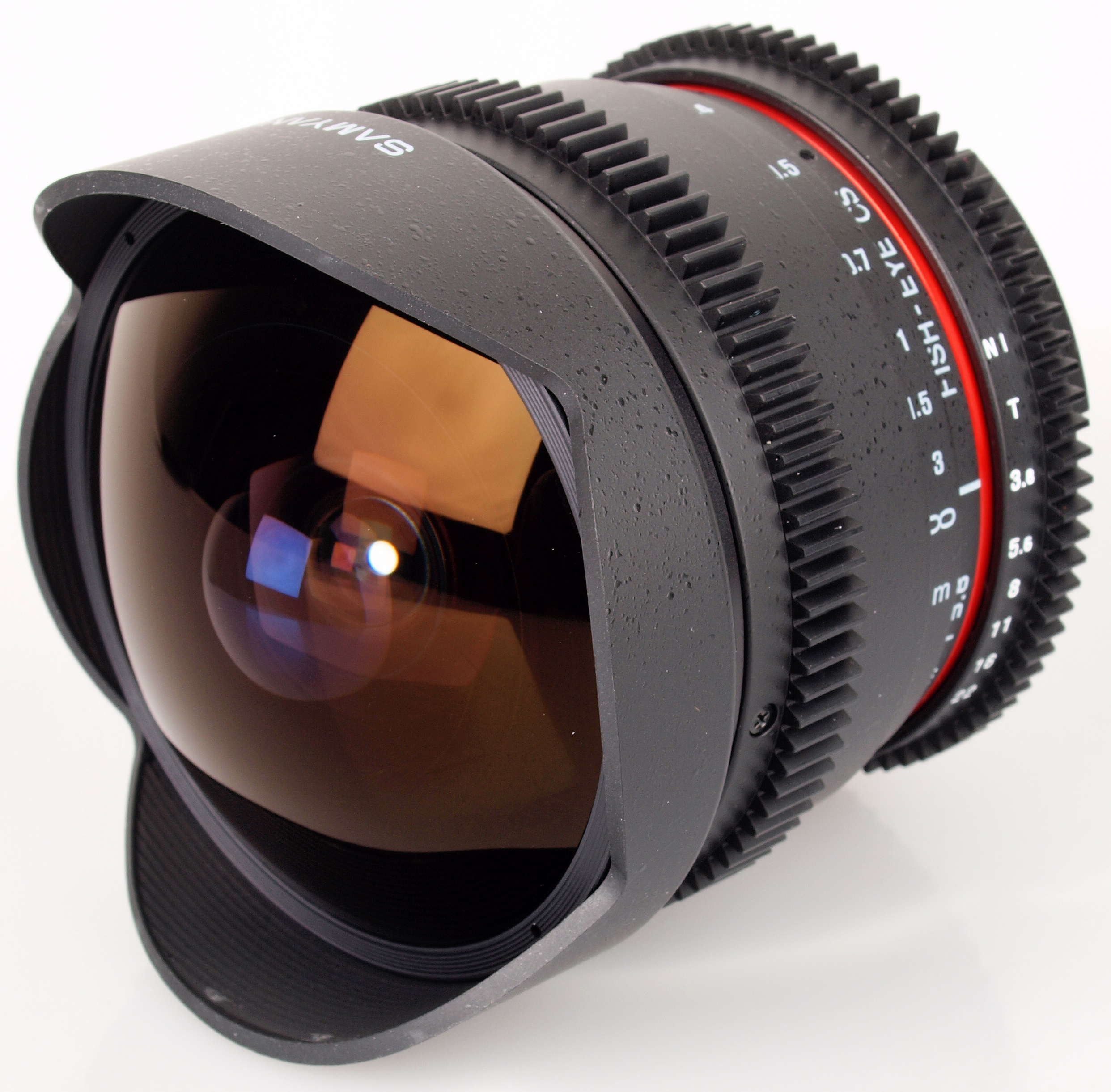 Samyang 8mm T3.8 HD Fisheye Cine Lens for Canon